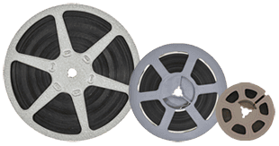 8mm, Super 8, 16mm Film Reels