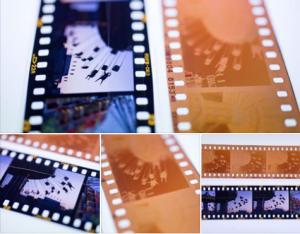 Slide film vs