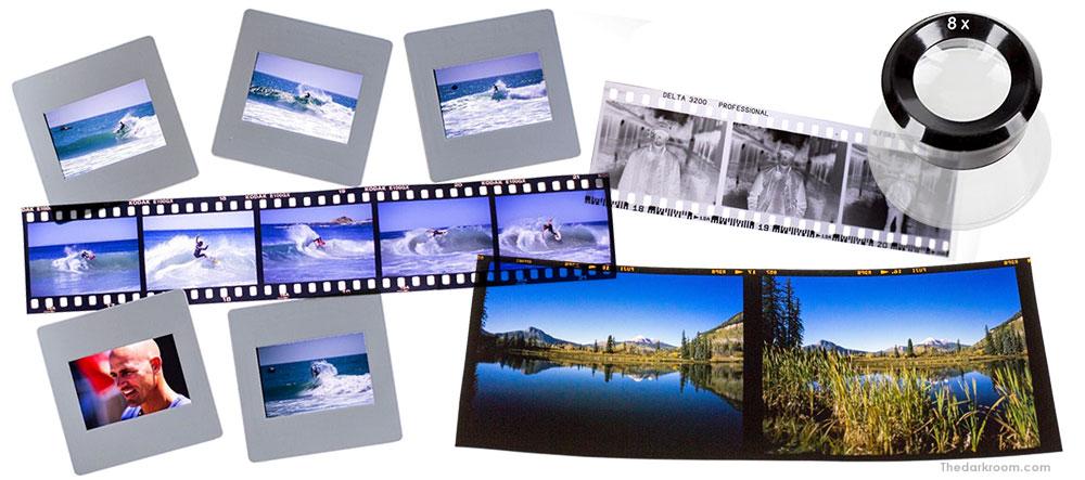 E-6 slide film ektachrome and transparency film processing
