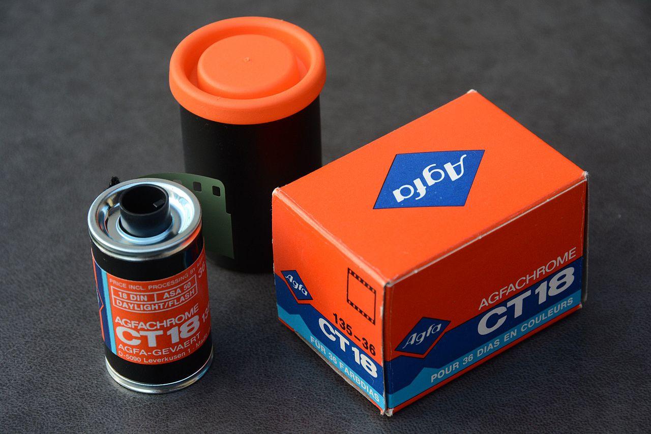 Agfa Agfachrome CT18 film