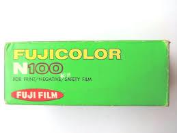 Fujicolor N100 120 film