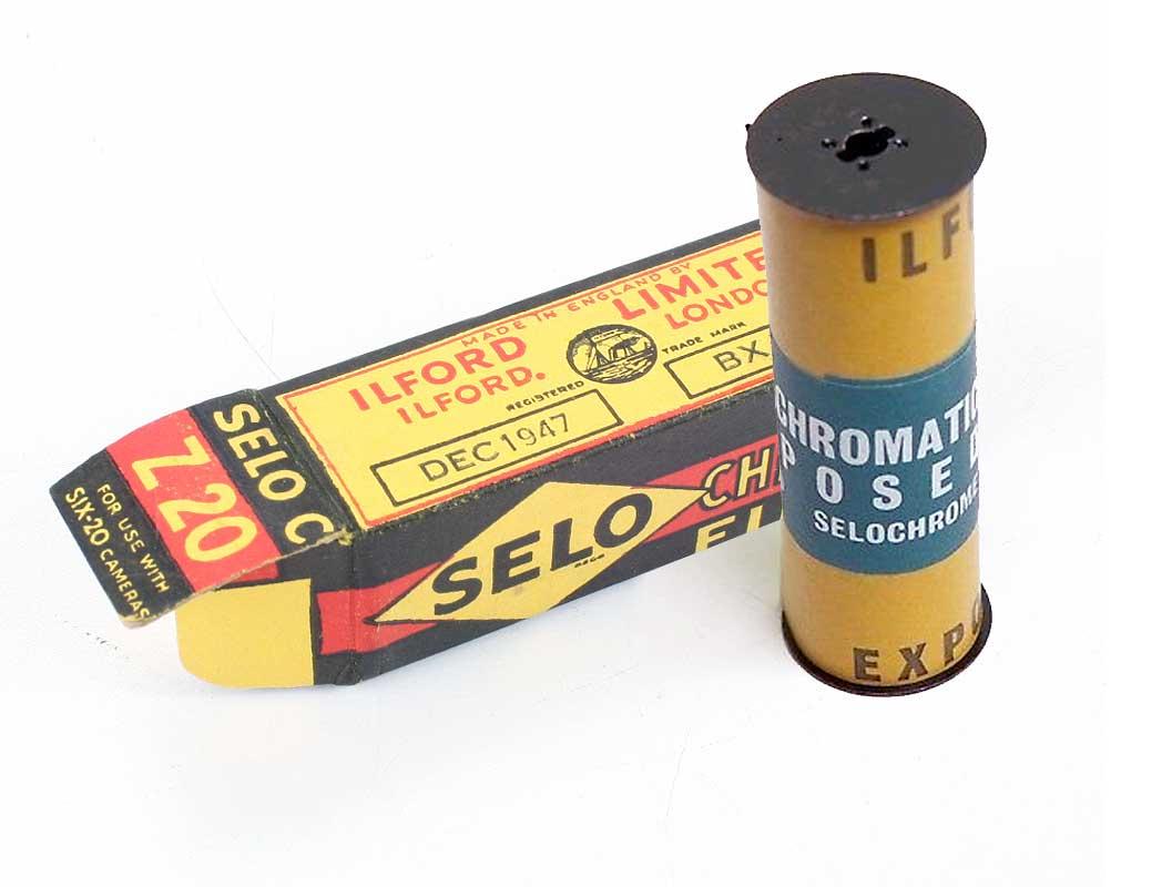 Ilford Selochrome Film