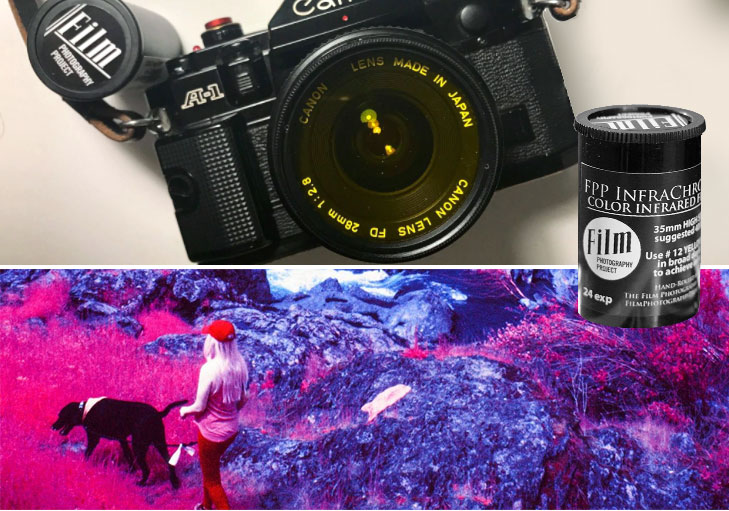 Infrared Film Photography setup