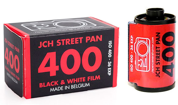 JCH Street Pan 400 film image