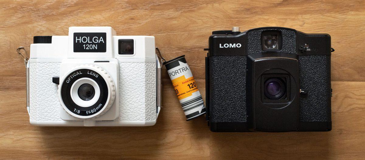 Lomo LC-A 120 vs. Holga 120N