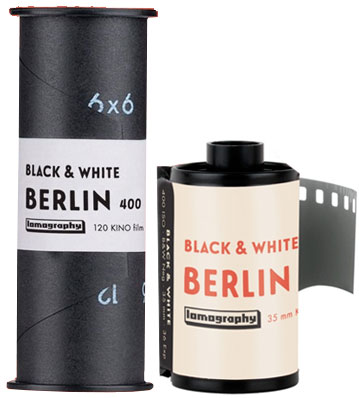 Berlin Kino 400 35mm 120 film