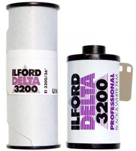 Ilford Delta 3200 35mm 120 film