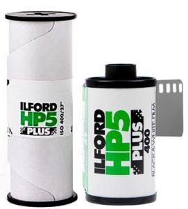 Ilford HP5 Plus 400 120 35mm film