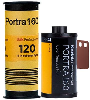 Kodak Portra 160 35mm 120