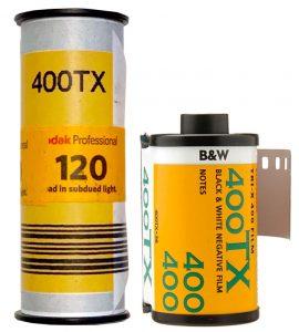 Kodak TRI-X 400 35mm and 120 film