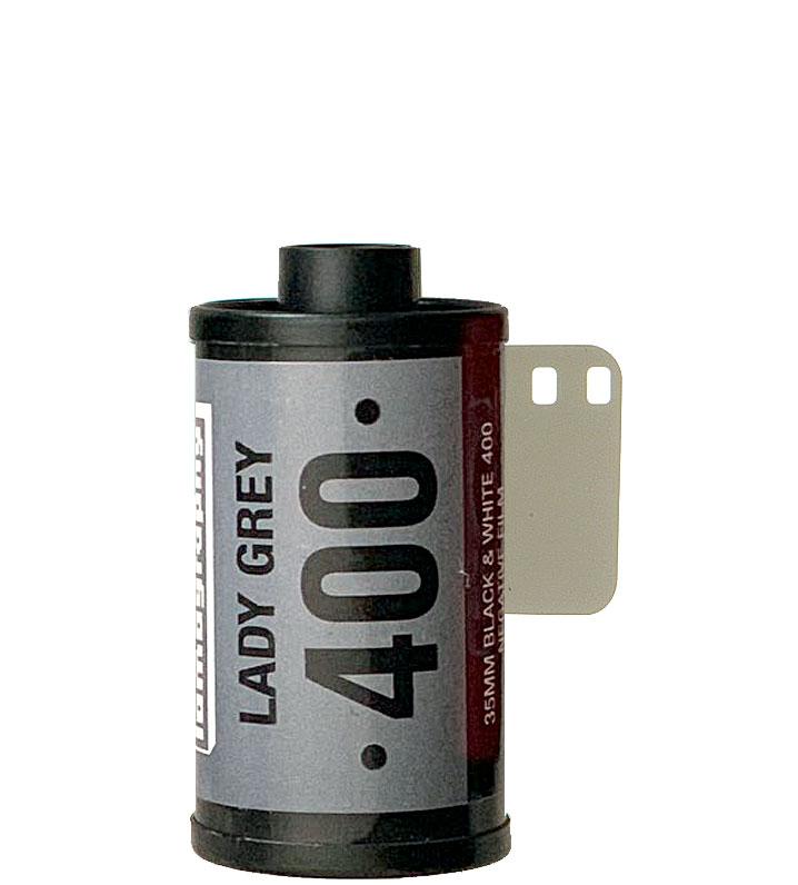 Lady Grey Lomography 35mm Film