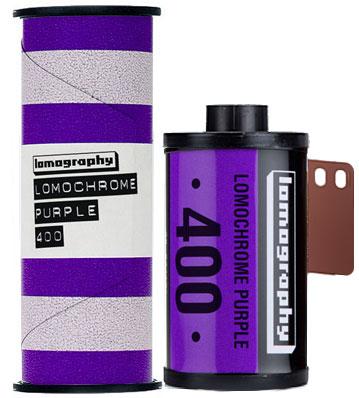 LomoChrome Purple lomography film 120 and 35mm