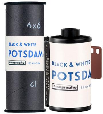 Lomography Potsdam Blank & White 35mm 120 film