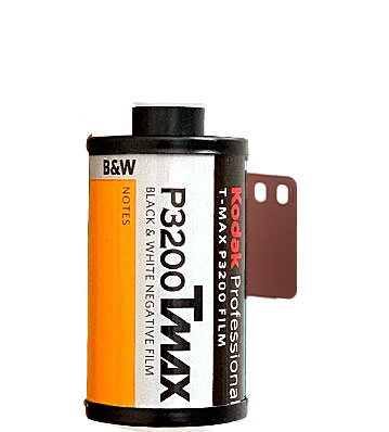 Kodak TMAX p3200