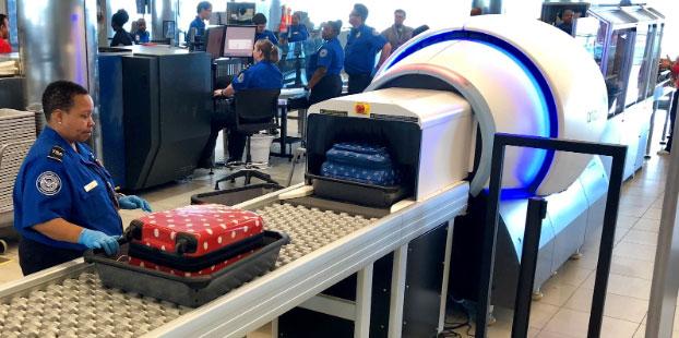 TSA CT Scanner