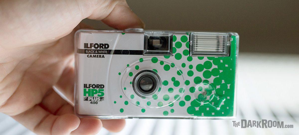 Ilford B&W HP5 Single-Use Disposable Camera