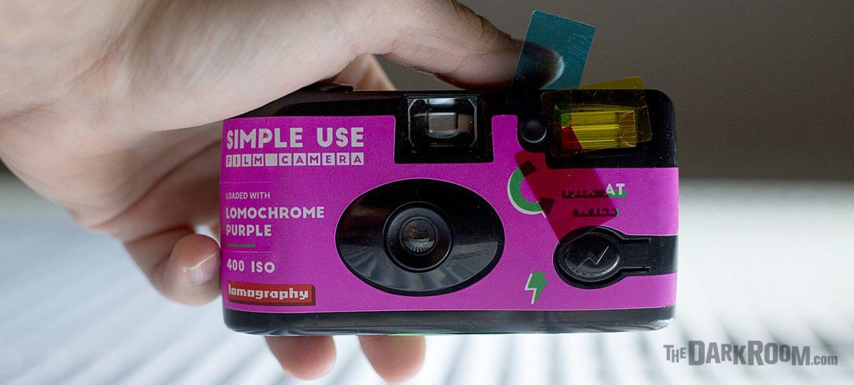 LomoChrome Purple Simple Use Disposable Camera