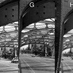 Disposable Single Use Cameras B&W Photo Comparison - Bridge