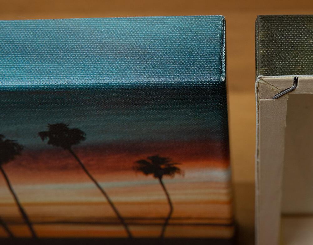 Canvas Tight corners