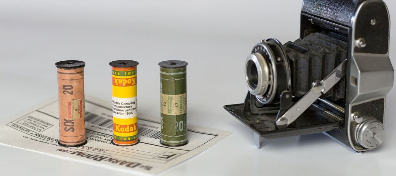 620 format film and camera