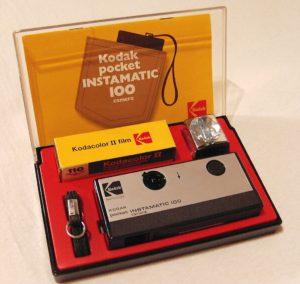 Kodak pocket instamatic 100 (1972)