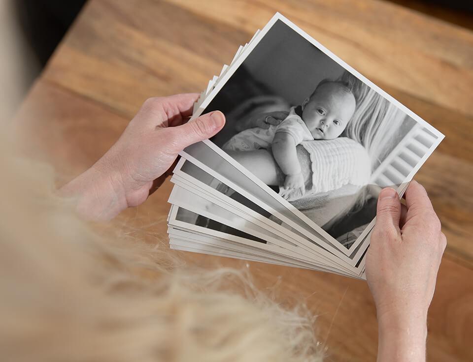 photo prints b&w