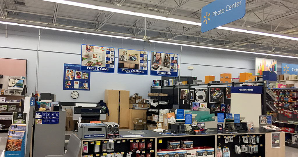 Photo of Walmart Photo Center in store