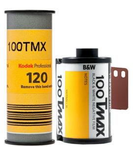 Kodak TMAX 100 35mm 120 film