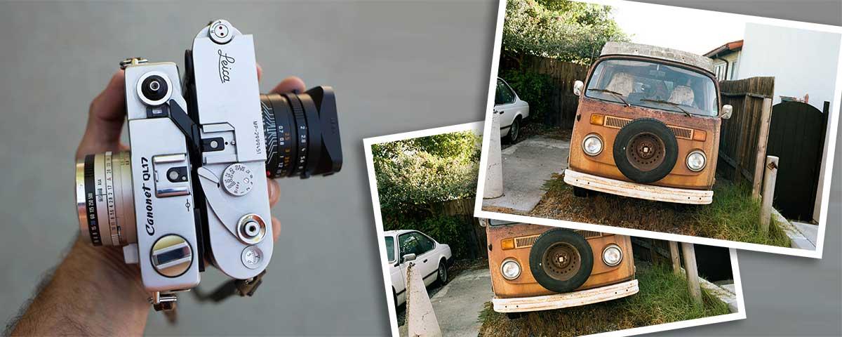Leica vs. Canonet photo comparison