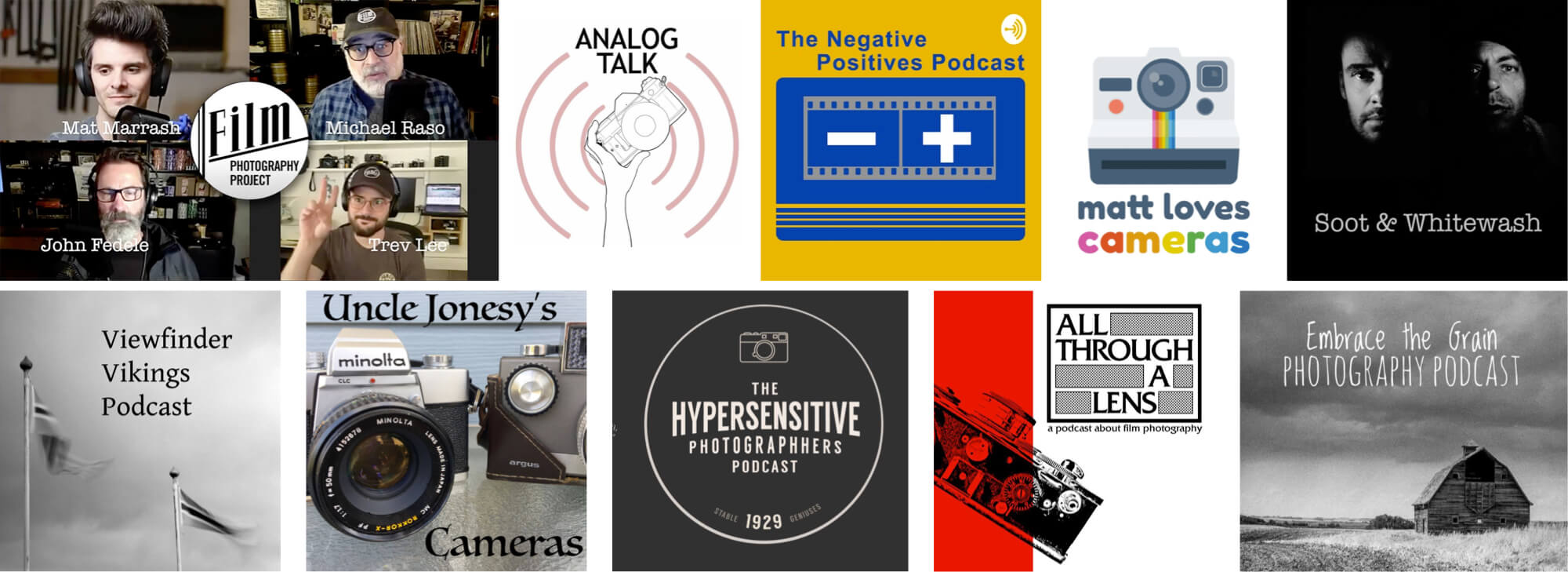 podcasts for film photography