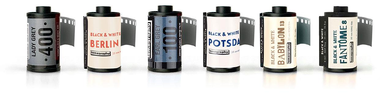 Lomography B&W Film Stocks