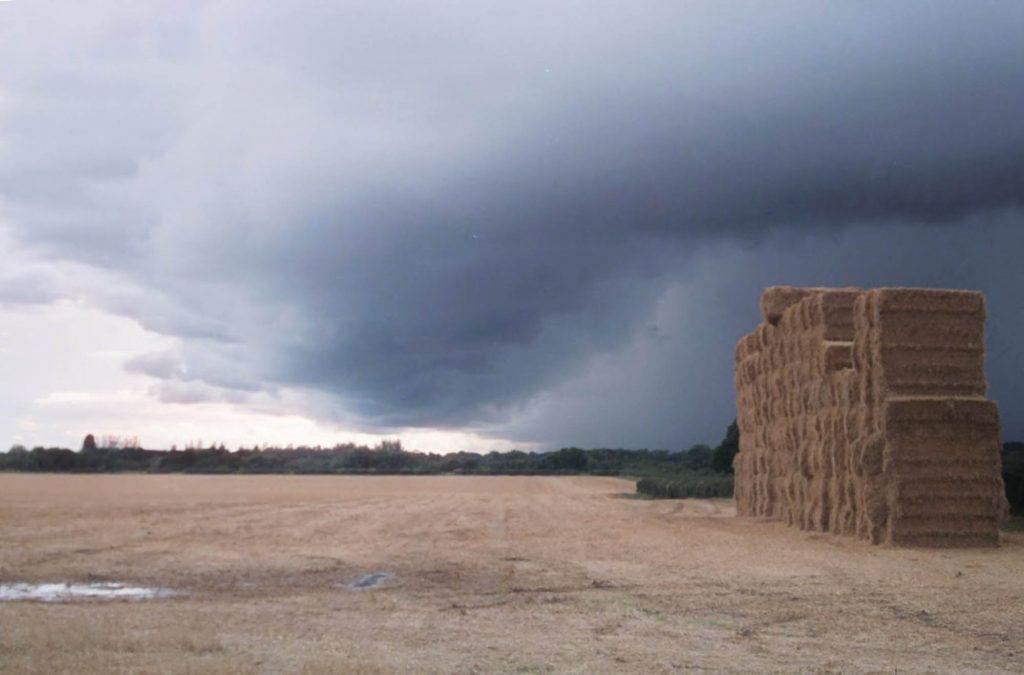 A storm brewing