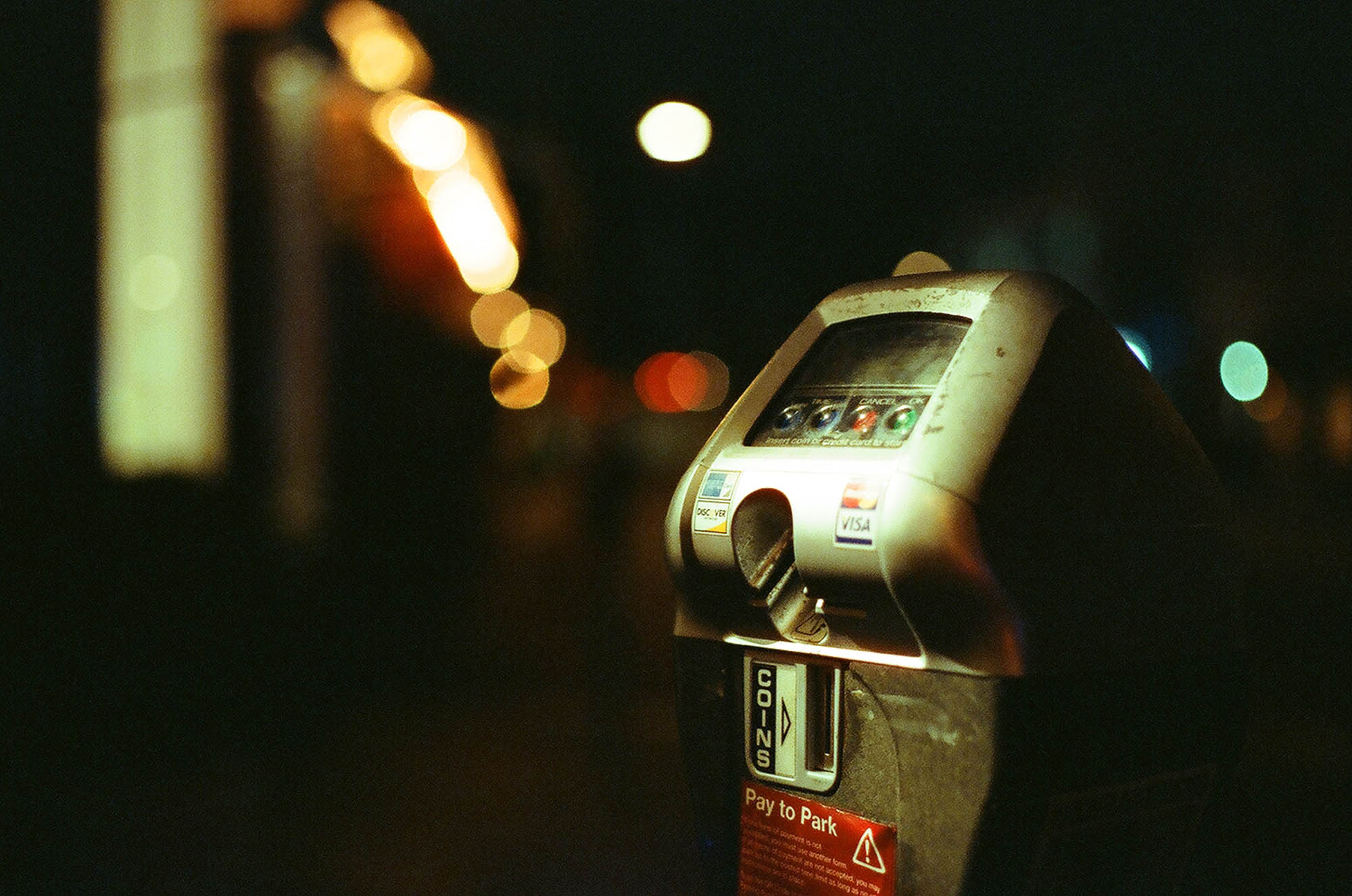 Love the color shift. Taken with a Canon AE-1