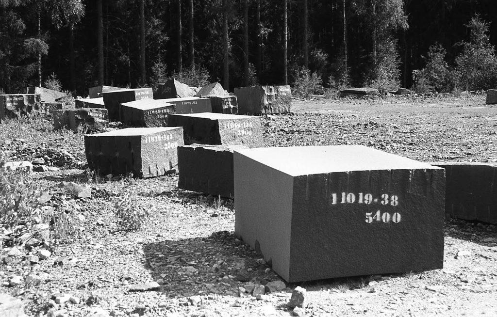 Shot on a Nikon F3, granite quarry in Southern Sweden, July 2019.