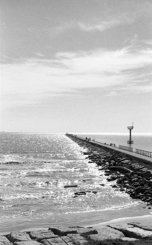 Galveston Jetty Minolta XK, 58mm f1.2