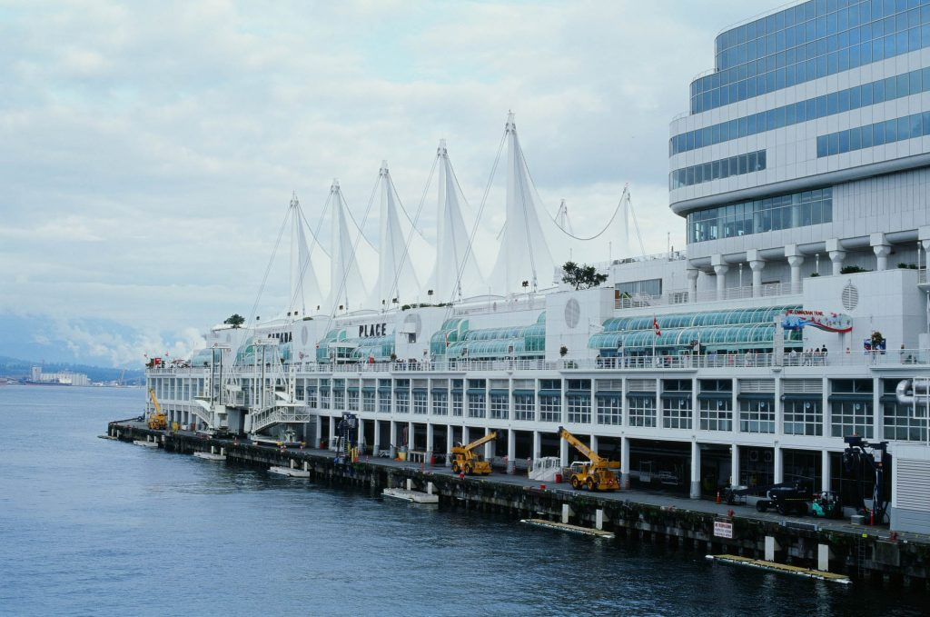 Taken at the cruise ship port in downtown Vancouver.