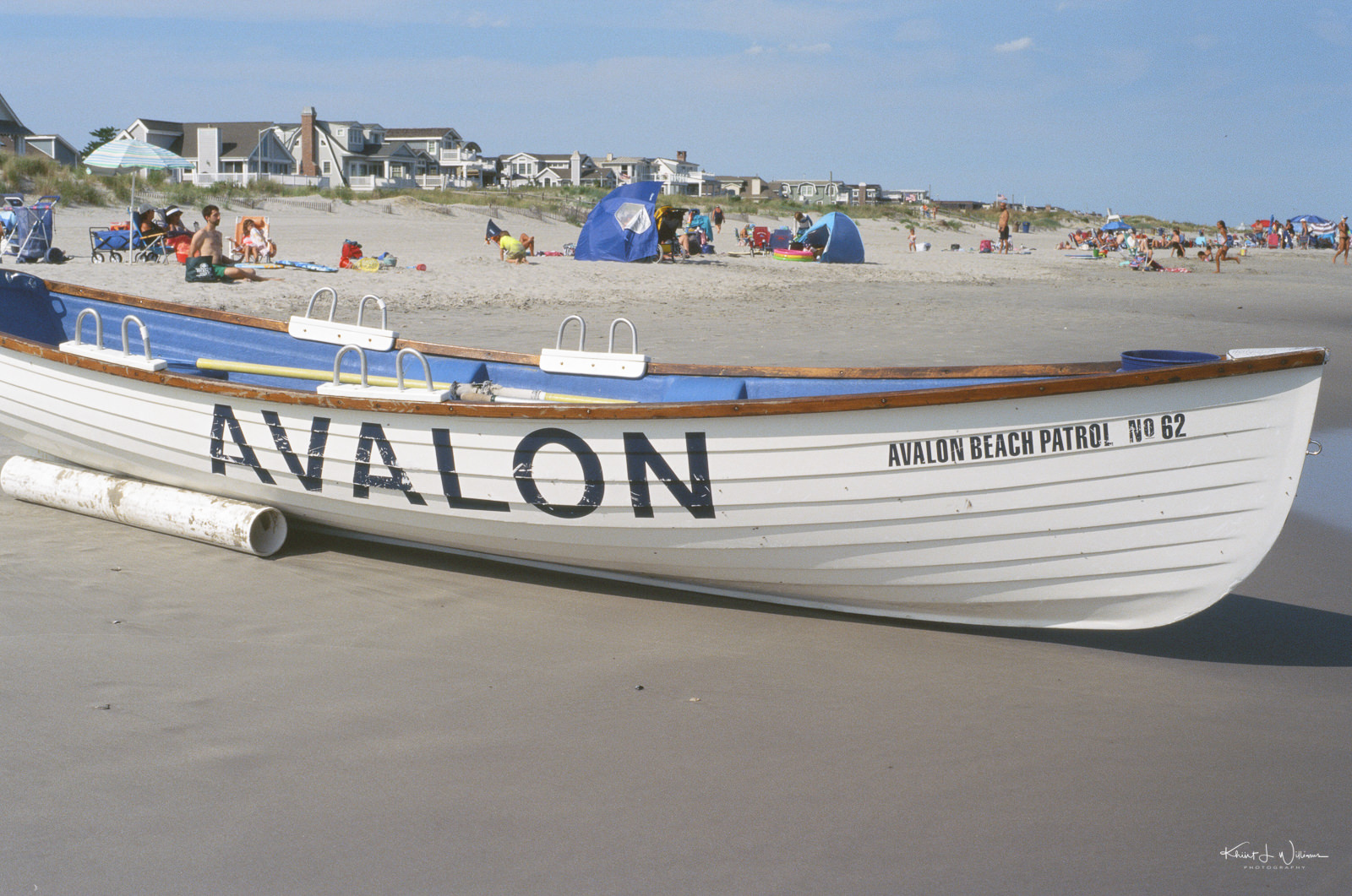 Avalon Beach Patrol #62, 7 Mile Island, Avalon, New Jersey. 26 August, 2020, Minolta X-700, Minolta MD Rokkor-X 50mm f/1.7