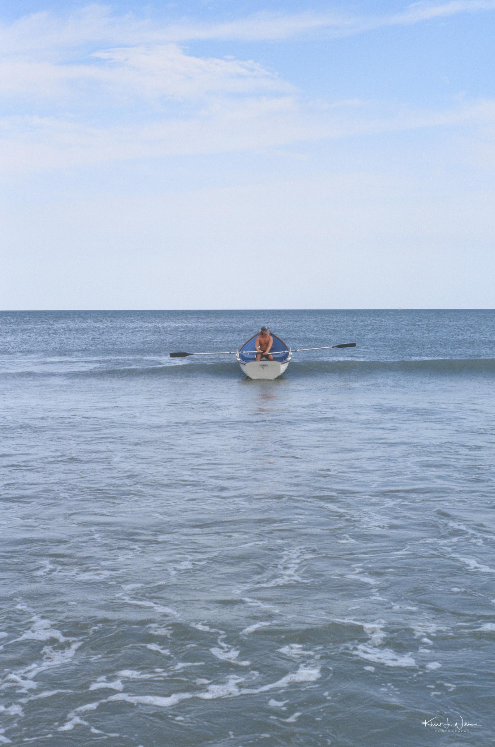 Avalon Beach, 7 Mile Island, Avalon, New Jersey.