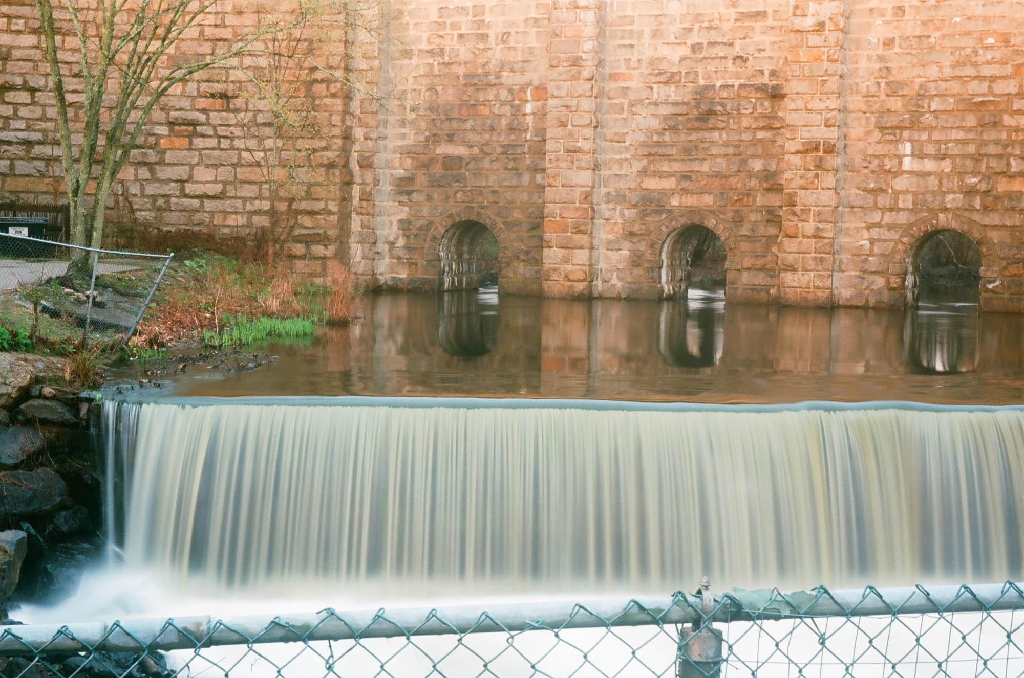 Canton Viaduct Waterfall