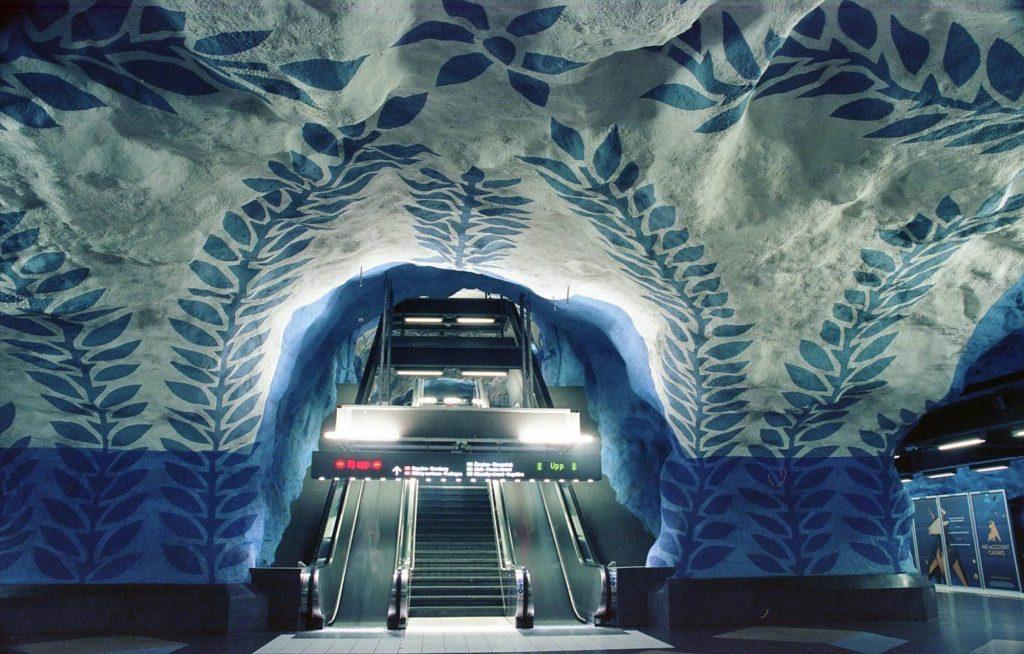 Ektar 100/Stockholm Subway/Nikon F4/July, 2019