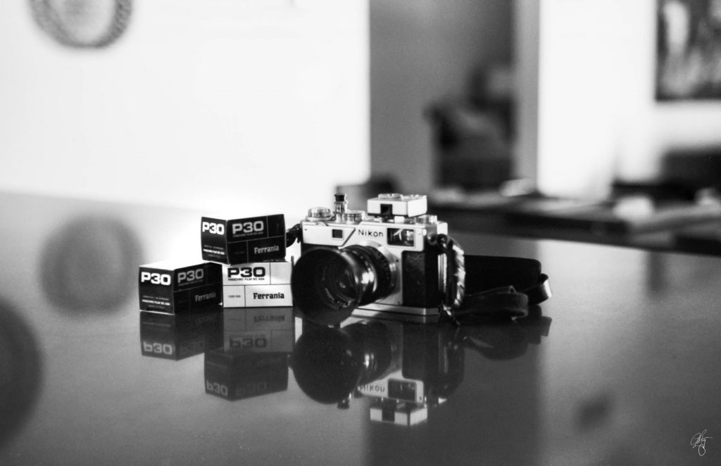 Developed with DDX 1+6, 15-min w/constant rotation Shot w/ Contax IIIa, 1.5/50mm Zeizz with built in selenium light meter.