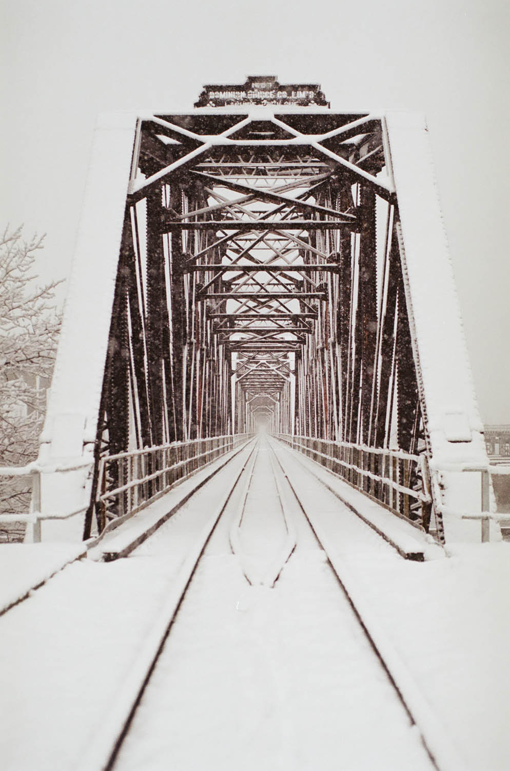 Train Bridge in Sault Ste. Marie, ON | Nikon EM