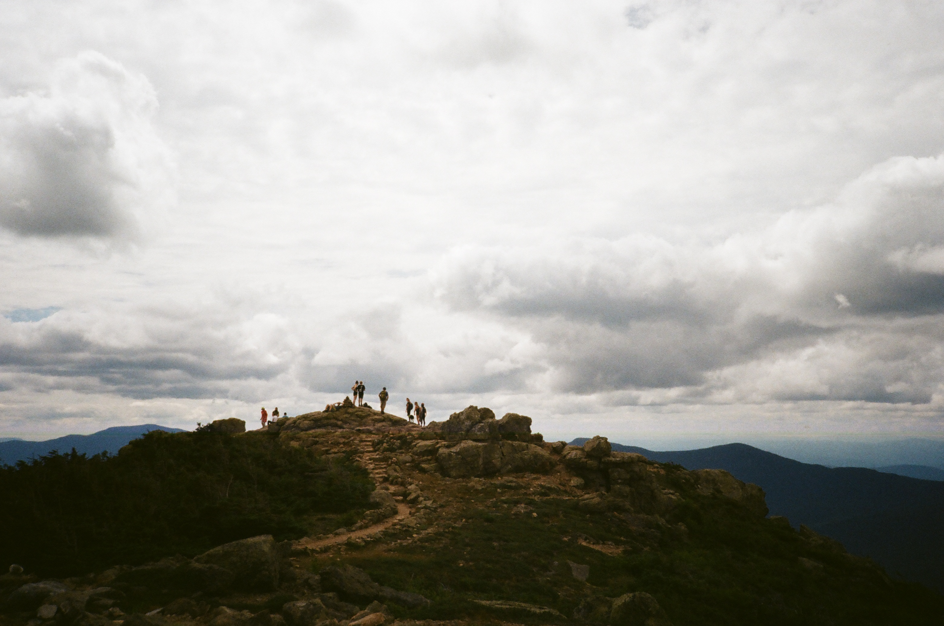Kodak Gold 200 shot on Olympus XA2 at the White Mountains in New Hampshire