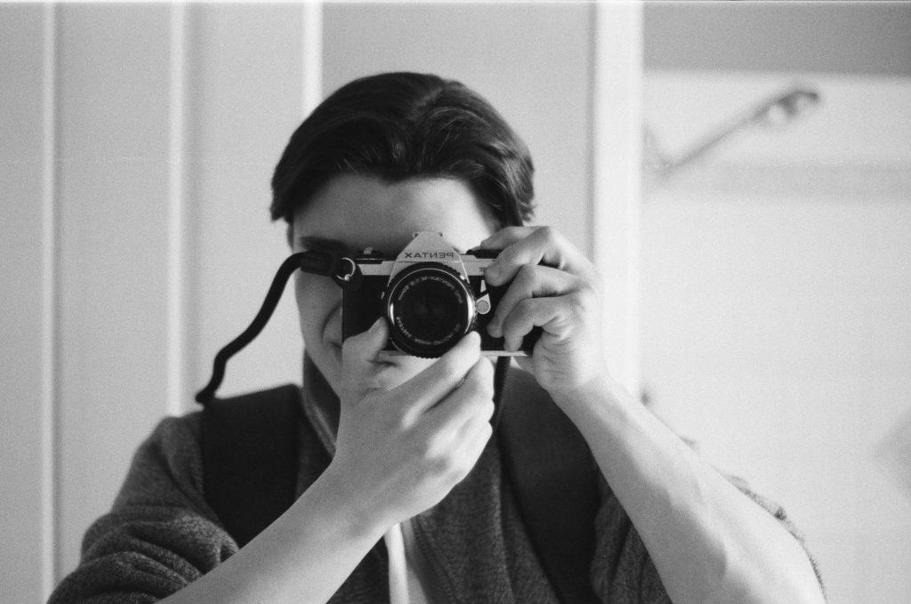 Pentax ME super 50mm lens.