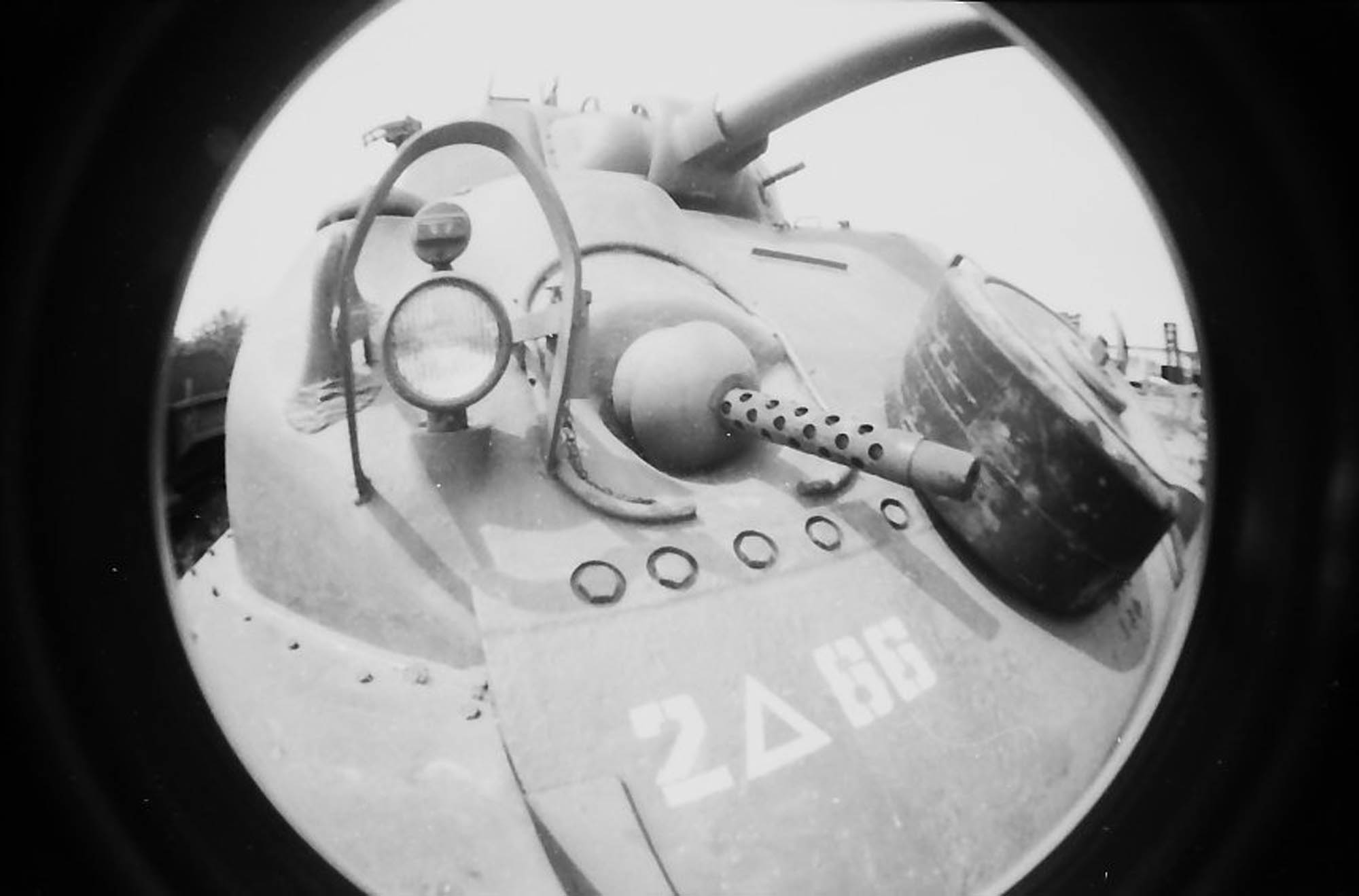Taken with fisheye no. 2 by Lomography.