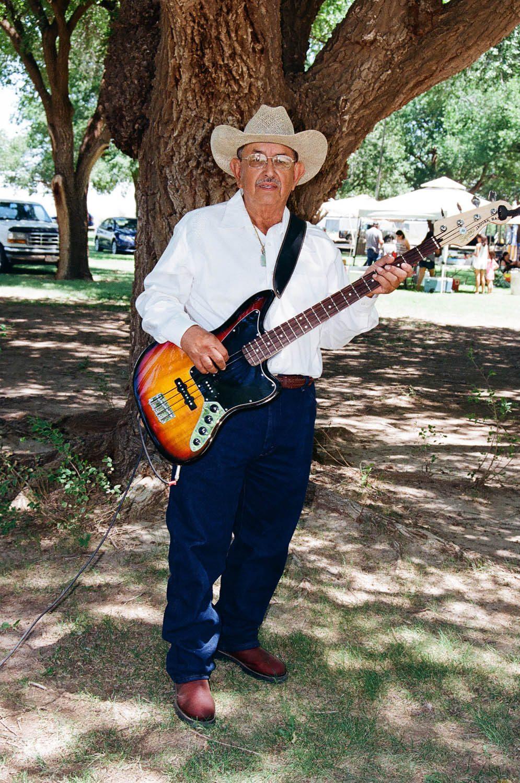 My Grandad 50+ years of playings bass Nikon N55 July 2018
