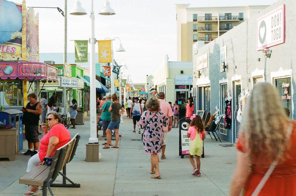 Carolina Beach, NC boardwalk