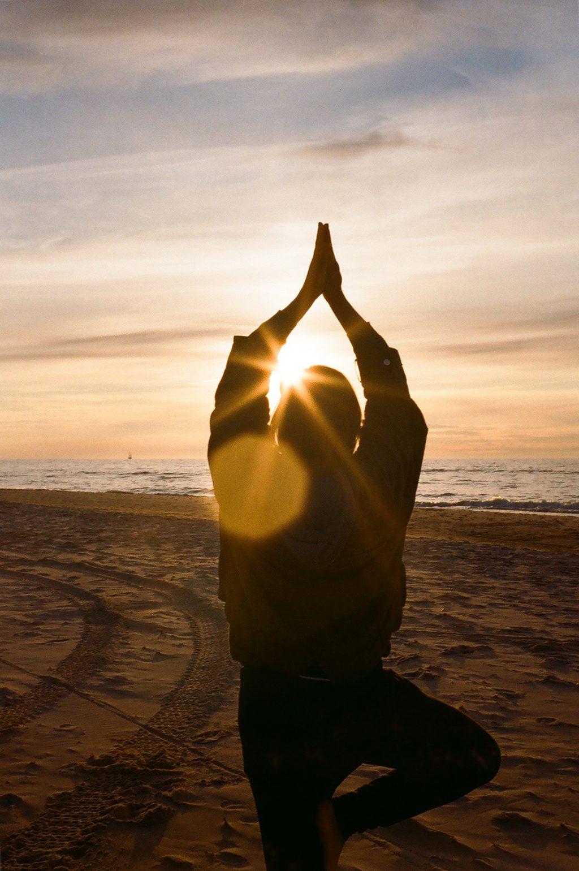 Beach Sunset Yoga
