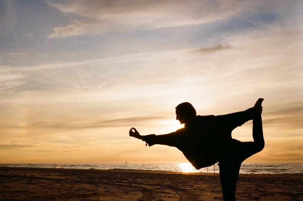 Beach Sunset Yoga 2