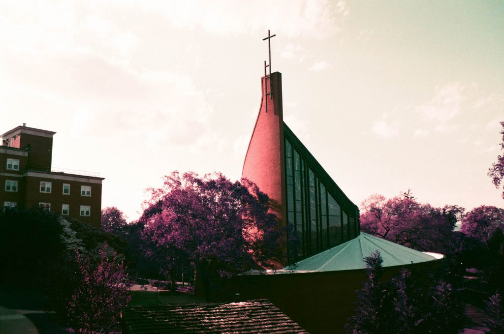Houston Memorial Chapel at Randolph College.